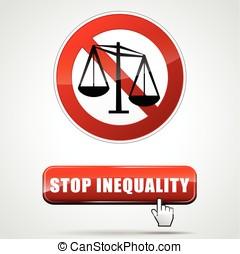 inégalité, arrêt