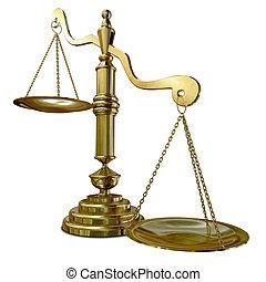 inégalité, balances