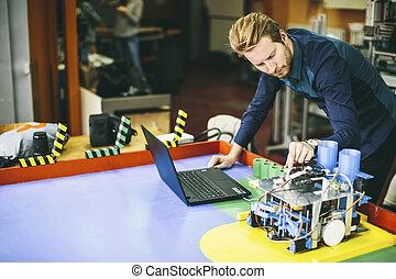 inżynier, w, przedimek określony przed rzeczownikami,...