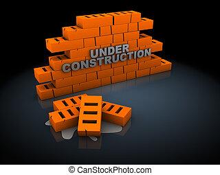 in aanbouw