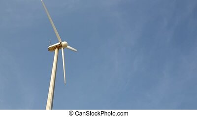 the eolic pole like concept of green energy