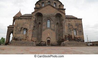 in armenia hripsime the old monastery