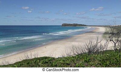 in australia the beach of Whitsunday Island
