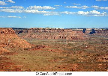 In Canyonlands, Utah