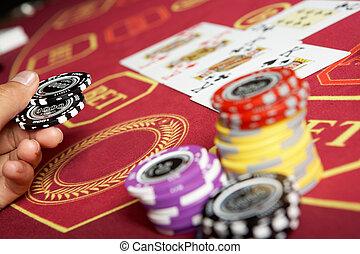 In casino