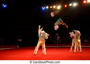 In circus - From February, 24 till February, 27th in Saratov...