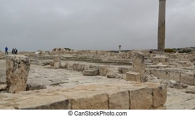 in cyprus the antique historical site ruins and heritage -...