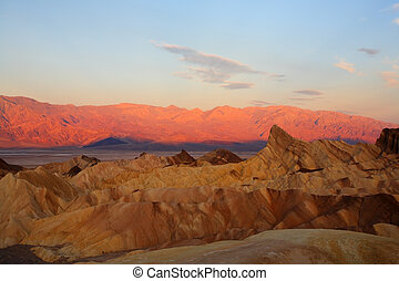 In Death valley in the USA.