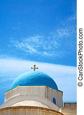 in europe greece a cross sky