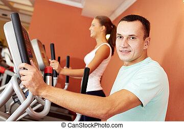 in, fitneßklub