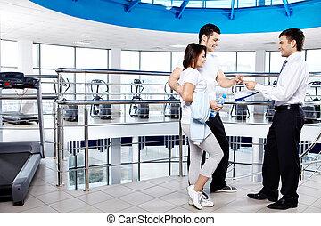 in, fitnessclub