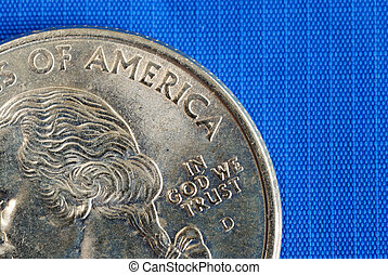 In God We Trust from the quarter