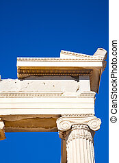 in greece the old architecture  athens