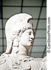 Athena - In Greek mythology, Athena is the goddess of...