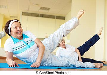 in, gymnastiksal