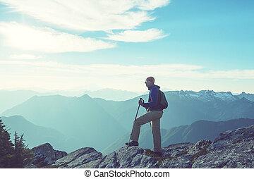 In hike
