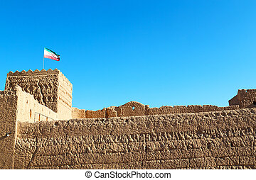 in iran the old castle