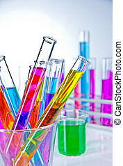 In laboratory