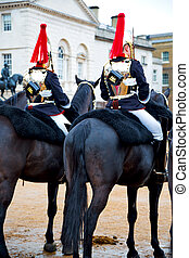 in london england horse and the queen