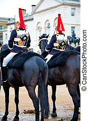 in london horse for the queen