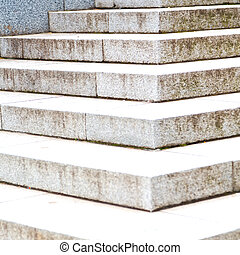 in london monument old steps and marble ancien line - in...