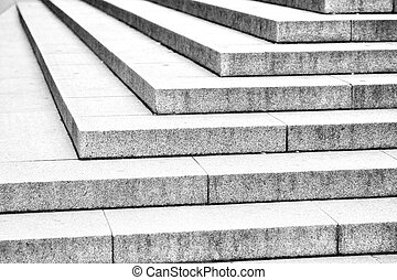 in london old steps and marble ancien line