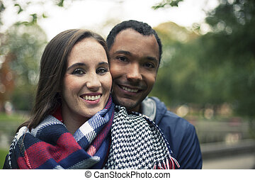 In Love Interracial couple