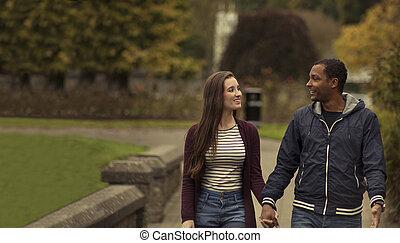 In Love Interracial couple