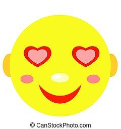 In Love Smiley.