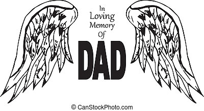 In loving memory of dad