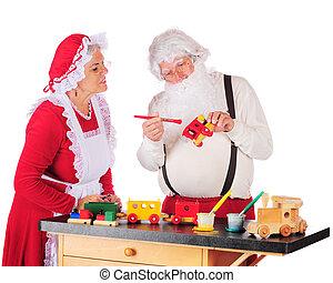 In Santa's Workshop