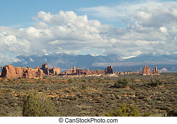 In the Arches National park
