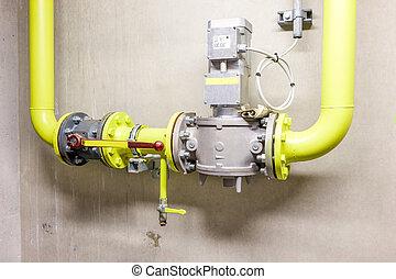 industrial gas valve