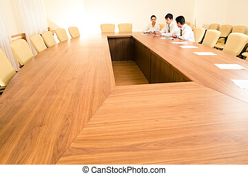 In the boardroom
