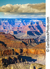 In the Grand Canyon National Park Arizona USA