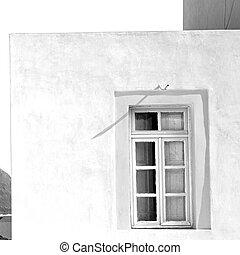 in the greece island window