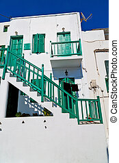 in the isle of greece  green