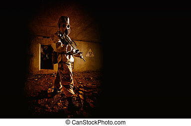 In the old bunker