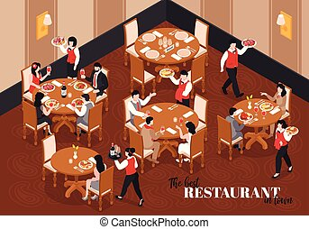 In The Restaurant Composition