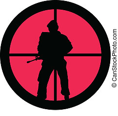 In the Scope Series - Soldier