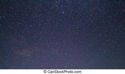 In the wake of the Milky Way. Pamir, Tajikistan