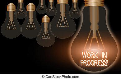 inacabado, todavía, developed., o, texto, escritura, trabajo, proyecto, significado, progress., concepto, agregado