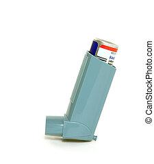 inalador, asma