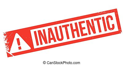 Inauthentic rubber stamp