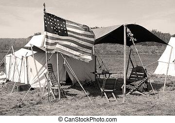 inbördeskrig, läger