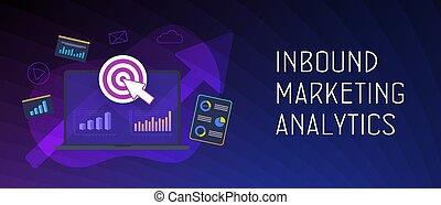 Inbound Marketing Analytics Concept. Advertisement Strategy ...