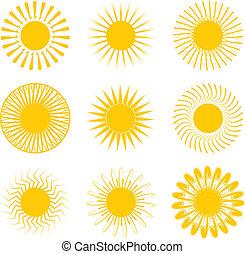 inca, słońce