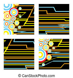 inca squares - inca abstract square designs with subtle inca...