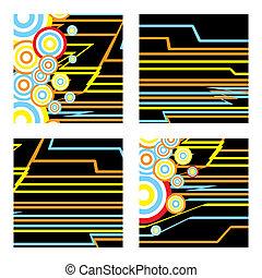 inca squares - inca abstract square designs with subtle inca...