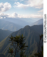 Inca Trail Mountain Valley